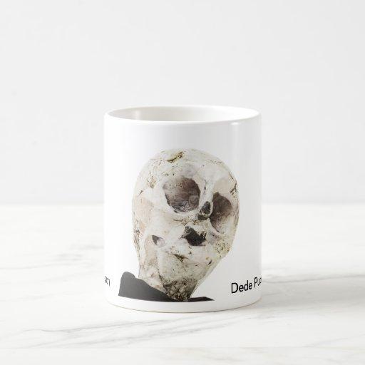 Skeleton portrait mugs