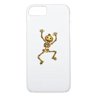 Skeleton Pumpkin Halloween Funny Gift iPhone 8/7 Case
