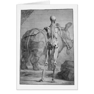 Skeleton & Rhino Card