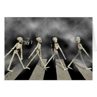 Skeleton Road Card