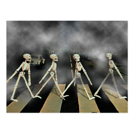 Skeleton Road Postcard