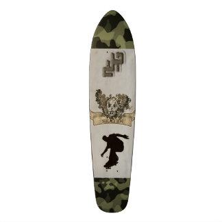 #Skeleton skateboard with Camouflage sample