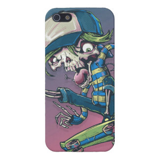 Skeleton Skateboarder Cover For iPhone 5/5S