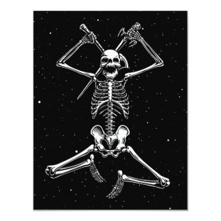 Skeleton Slayer 4.25x5.5 Paper Invitation Card