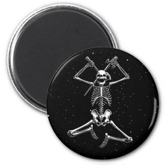Skeleton Slayer 6 Cm Round Magnet