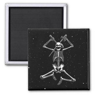 Skeleton Slayer Fridge Magnet