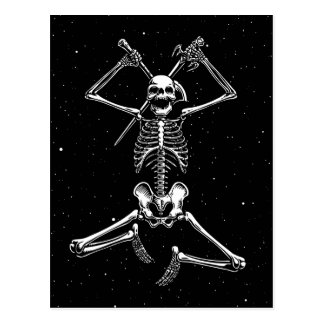 Skeleton Slayer Postcard