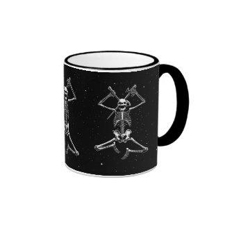 Skeleton Slayer Ringer Mug