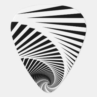 Skeleton Staircase Pattern Guitar Pick