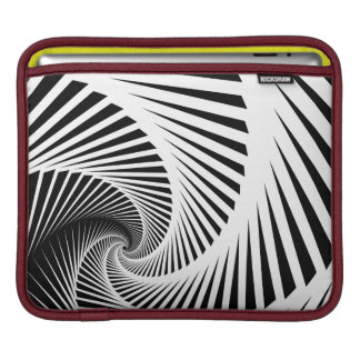 Skeleton Staircase Pattern iPad Sleeve