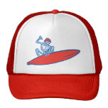 Skeleton Surfer Cap