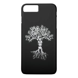Skeleton Tree Print Phone Case