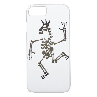 Skeleton Unicorn Dance 2 iPhone 7 Case