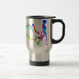 Skeleton Walk Travel Mug