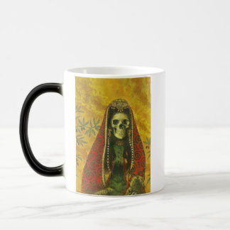 Skeleton Witch Design Magic Mug