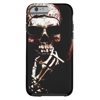 Skeleton with Attitude Tough iPhone 6 Case