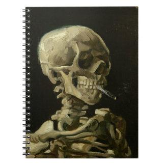 Skeleton with Cigarette 1886 Notebook