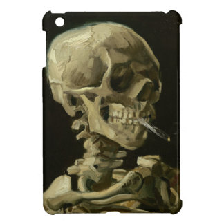 Skeleton with cigarette by Van Gogh iPad Mini Covers