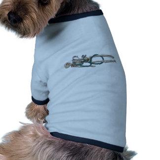 SkeletonAndStethoscope111311 Pet Shirt