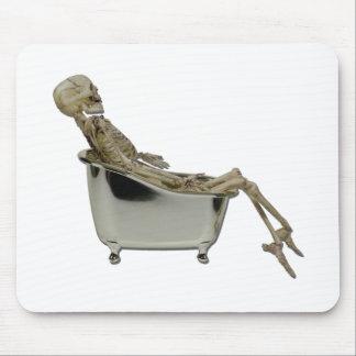 SkeletonBathtub100711 Mouse Pad
