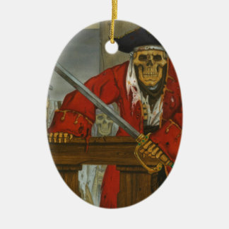 SkeletonCrew.JPG Ceramic Ornament