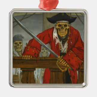 SkeletonCrew.JPG Metal Ornament
