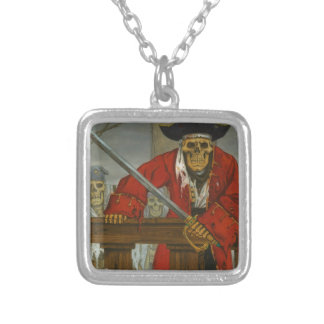 SkeletonCrew.JPG Silver Plated Necklace