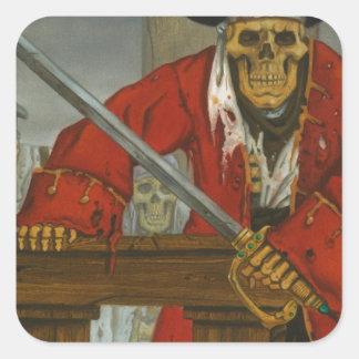 SkeletonCrew.JPG Square Sticker
