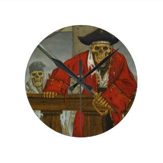 SkeletonCrew.JPG Wall Clocks