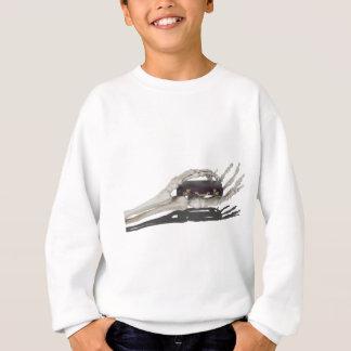SkeletonHandsBriefcase081614 copy Sweatshirt