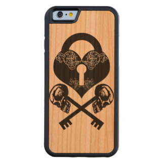SkeletonKey Carved Cherry iPhone 6 Bumper Case
