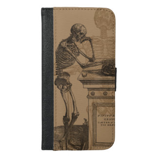 Skeletons and Death iPhone 6/6s Plus Wallet Case