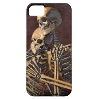 skeletons embrace on iphone case iPhone 5 cases