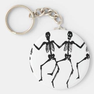 Skeletons Key Ring