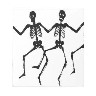 Skeletons Notepads