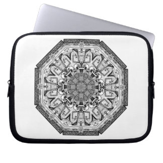 Skeletons on Parade computer laptop sleeve