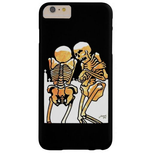 Skeletons Out in the Cold Barely There iPhone 6 Plus Case