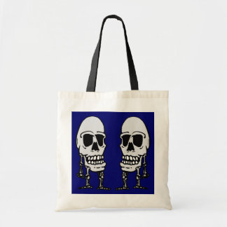 Skeletons Trick-or-Treat Tote Bag Candy Sack