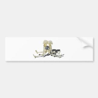 SkeletonsChokedByEngagementRing070515 Bumper Sticker