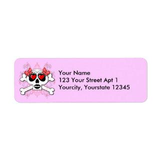 Skelly Love Return Address Label