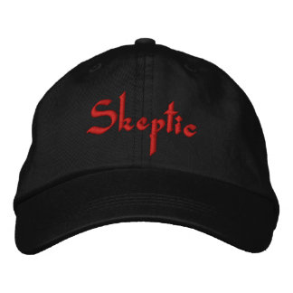 Skeptic Hat Embroidered Hat