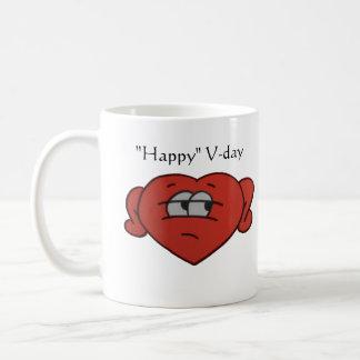 Skeptical Valentine's day- mug