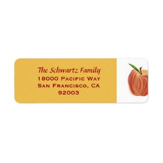 Sketch Apple Return Address Label