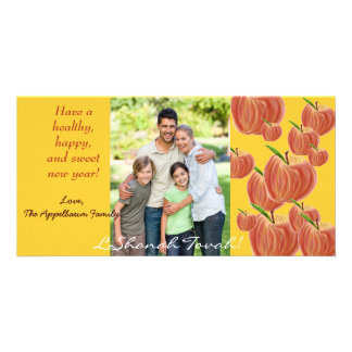 Sketch Apple Rosh Hashanah Photo Card