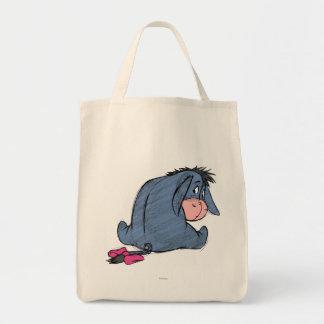 Sketch Eeyore 1 Grocery Tote Bag