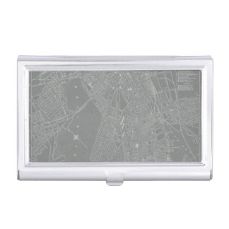 Sketch of Boston City Map Business Card Holder