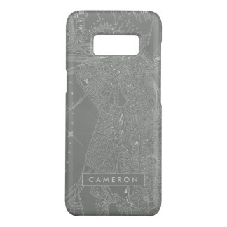 Sketch of Boston City Map Case-Mate Samsung Galaxy S8 Case