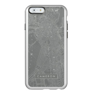 Sketch of Boston City Map Incipio Feather® Shine iPhone 6 Case