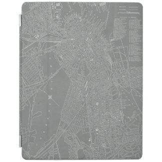 Sketch of Boston City Map iPad Cover