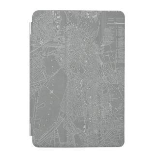 Sketch of Boston City Map iPad Mini Cover